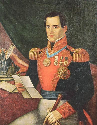 By 1834, Mexican president