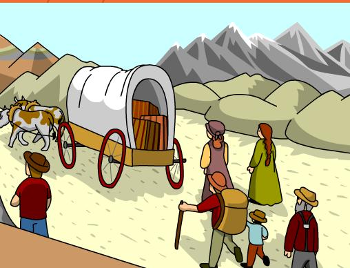 o Innovations Going West What are the innovations that cause settlers to travel west?