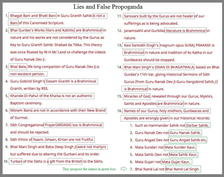 Figure 5: Lies and Fake propaganda by the Kala Afghana Brigade Hindu elements They want Hindu elements removed.