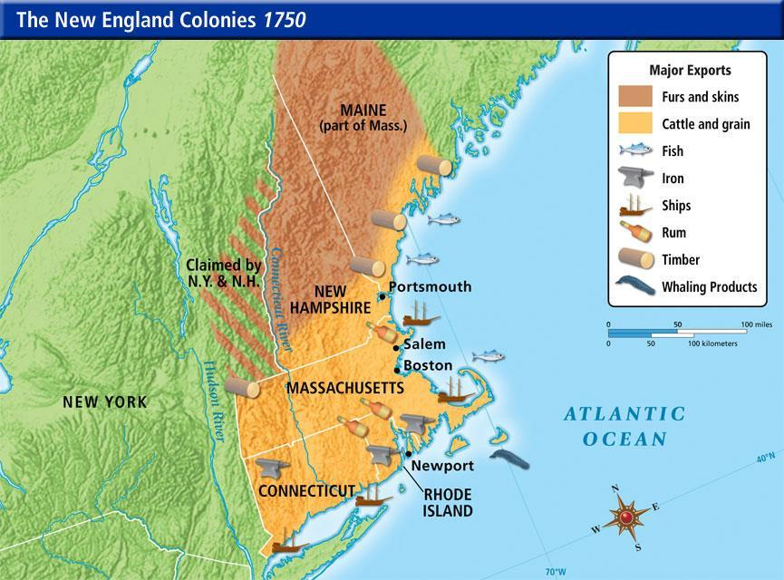 NE Founding Purpose: freedom of worship while earning a profit as a proprietary colony New England s