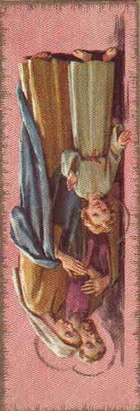 St. Joseph, grant that Jesus may look upon my deeds and extend His blessing. St. Joseph, grant that Jesus may inflame me with love for Him. St. Joseph, obtain for me from Jesus the imitation of your virtues.