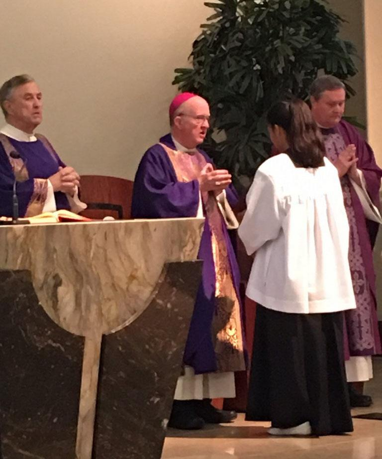 Pat s Installation Mass Sunday, December 4, 2016 We welcome Fr.