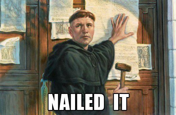 PROTESTANT REFORMATION 1520 Wittenberg, Germany Martin Luther
