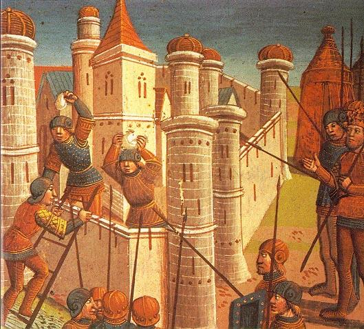 2.6 The Real End--The Fall of Constantinople The city of Constantinople never fully recovered from that attacks by the Christian forces of western Europe in the Fourth Crusade.