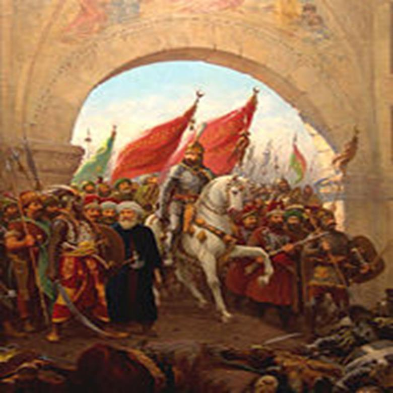 Powerful Leader: Mehmet II Captures Constantinople in 1453 Opens it to all groups of people Uses canons (Canons that would fire 1200 pound