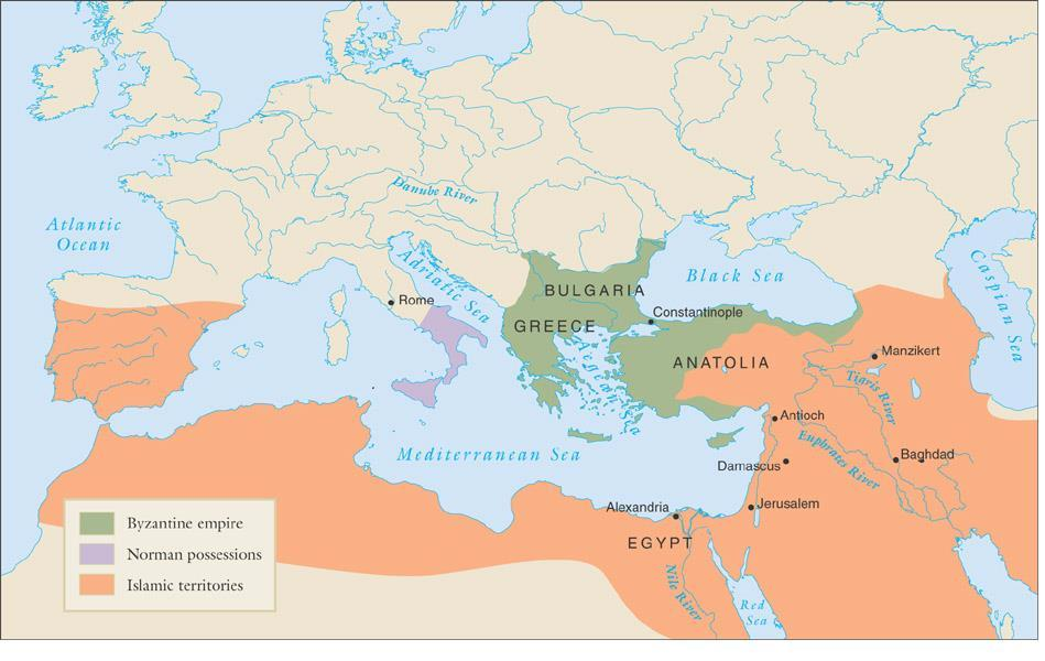 The Byzantine empire and its
