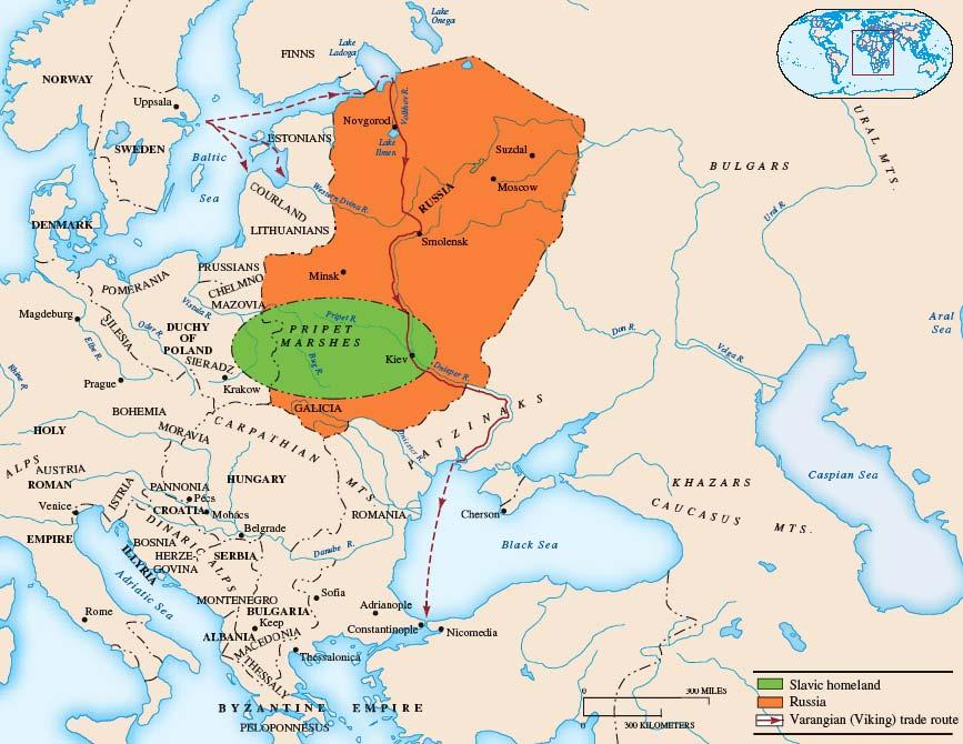 II. The Spread of Civilization in Eastern Europe B.