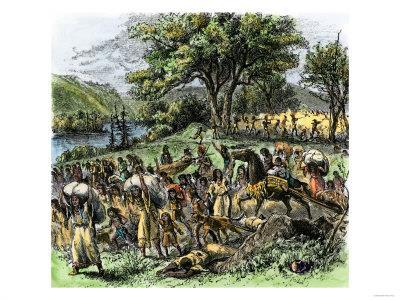 Black Hawk War- 1832 resulted from settlers