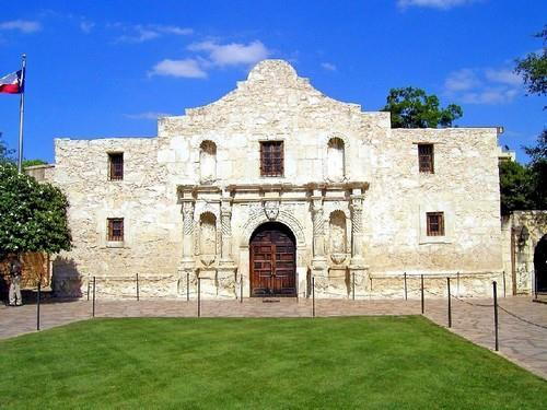 independence Alamo- former mission & fort in San Antonio