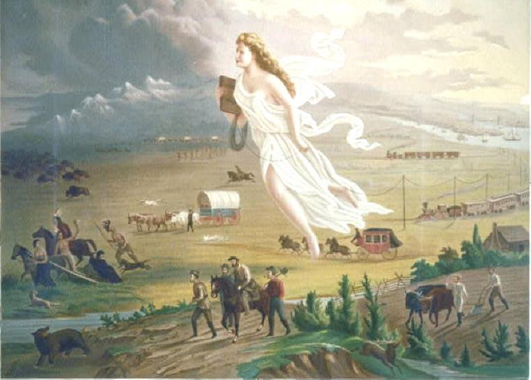 Manifest destiny 19 th century belief that the U.S.
