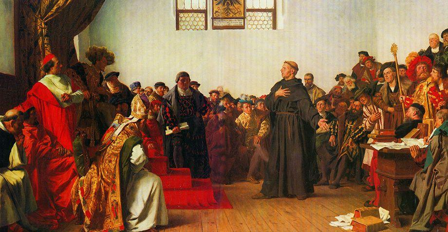Excommunication - Diet of Worms (1521) - Luther refuses to recant