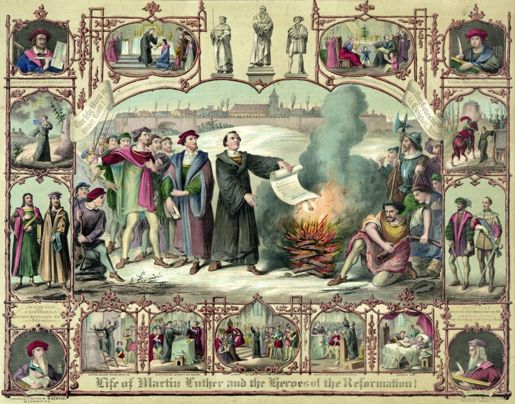 Reformation - PROTEST and REFORM - Motivations were both religious and political - Continent-wide movement - 1517 Martin Luther posted 95