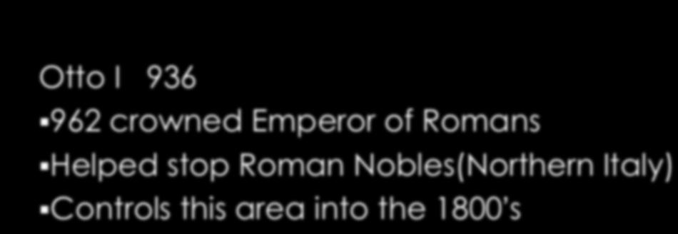 Helped stop Roman Nobles(Northern