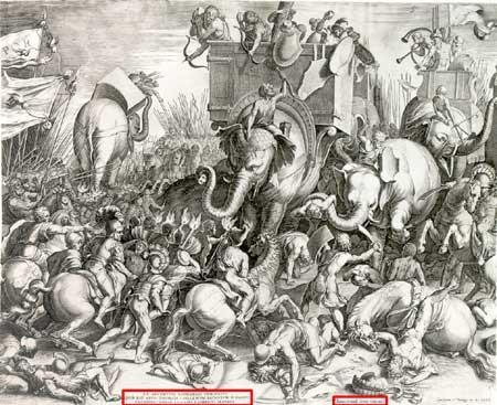 The Romans attacked Carthage in order to get Hannibal to leave.