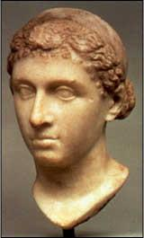Affair with Cleopatra When Caesar went to Egypt in pursuit of Pompey he became involved in the civil war in Egypt