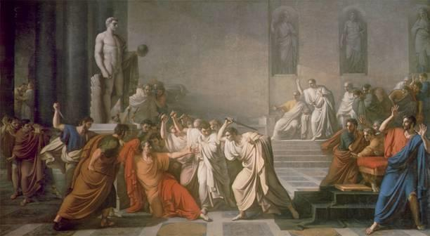 The Ides of March Some Senators feared the Caesar was becoming too powerful and wanted to make himself king.
