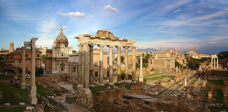 The Forum was the heart of any Roman City It was the