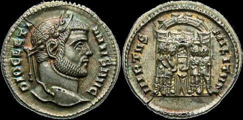 The Roman Emperors Diocletian and