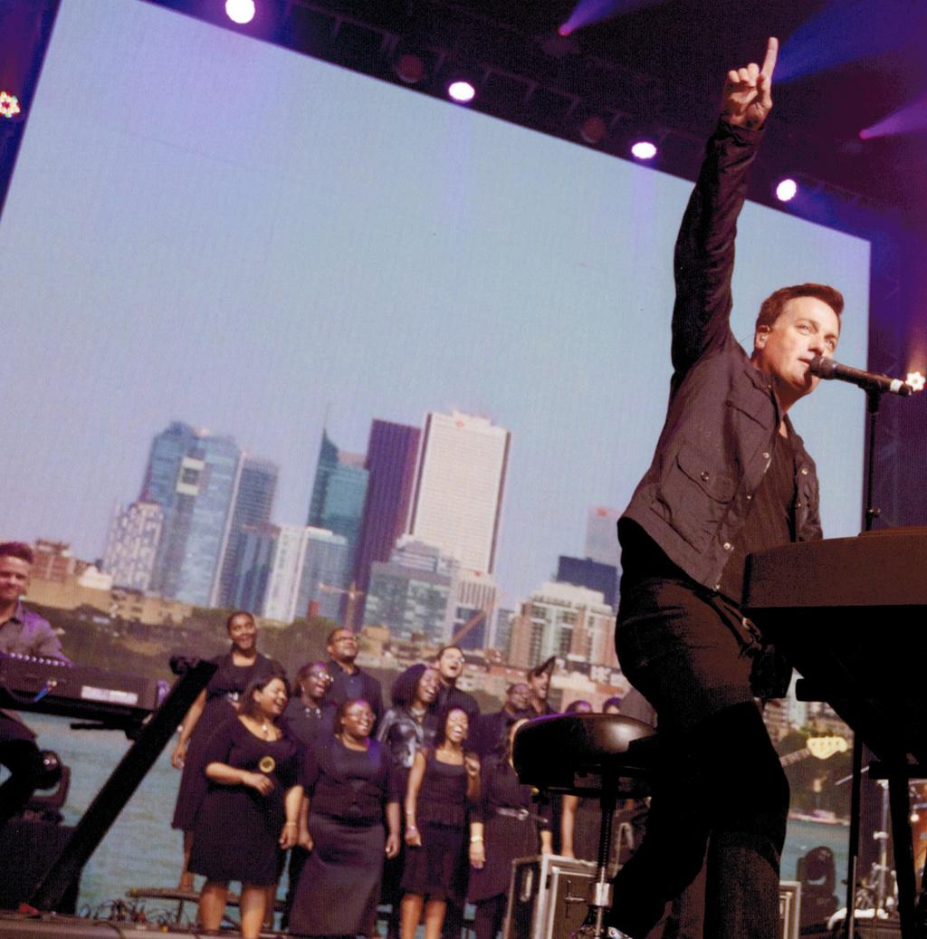 SING WITH MICHAEL W. SMITH IN THE HOLY LAND! FOR MORE INFO / TO BOOK C HOIR PA R T IC IPA N T S * W IL L : Sing on-stage with MICHAEL W.