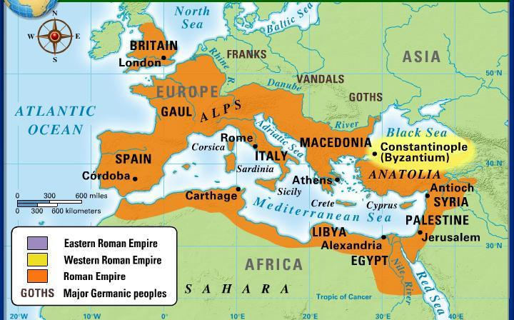 Factors that lead to the Rise of the Byzantine Empire Constantine Becomes Emperor of Rome Byzantium