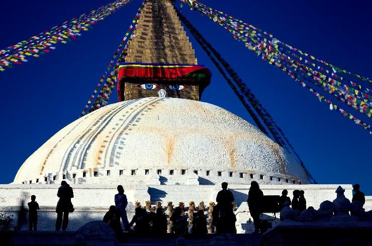 Swoyambhunath Stupa: Located approximately 4 kms. /2.5 miles, this Buddhist Stupa is said to be 2000 years old.