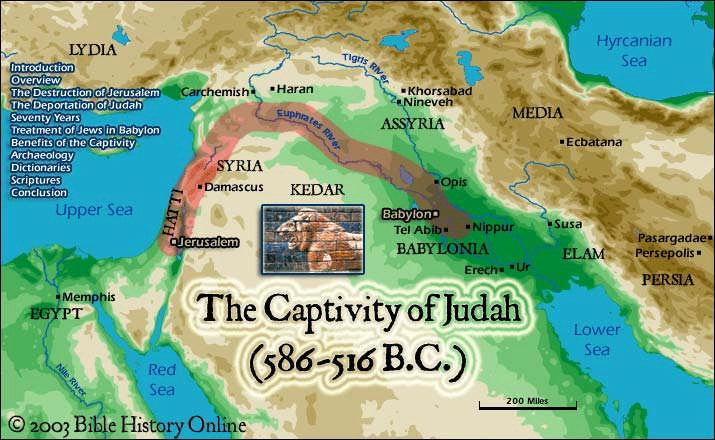 The Diaspora The Babylonian Captivity, in 586 B.C., marked the start of the diaspora, or scattering of the Jews.