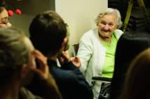 Important Catholic Links: What does HOPE look like? For St. Vincent De Paul students, it is the joy they bring to the elderly during their annual visit to a seniors home.