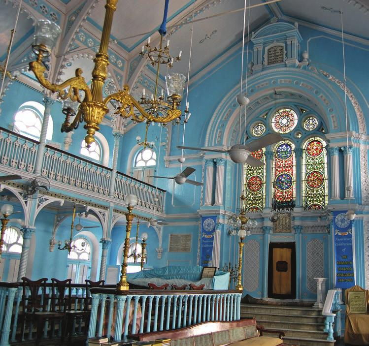 Two synagogues, two very different parts of the world both need your help.