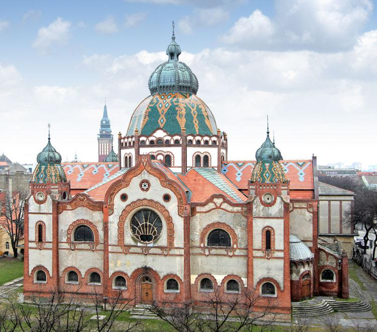 one of the most important works of art nouveau sacred architecture in the world Subotica Synagogue Subotica, Serbia Designed in the late 1890s and built in 1902, Subotica Synagogue is one of the most