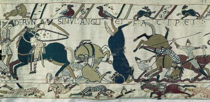 Bayeaux Tapestry, 1070-1080
