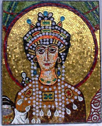 Wife of Emperor Justinian Raised in poverty and became an actress Most powerful woman in