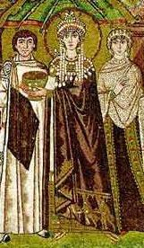 Empress Theodora She met with & wrote to foreign