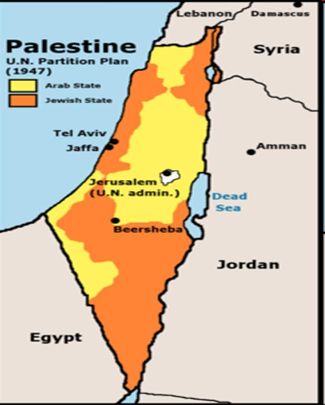 Tensions between Arabs and Jews In 1939, the British called a halt to Jewish immigration to Palestine In 1947 Britain turned the issue over to the United Nations