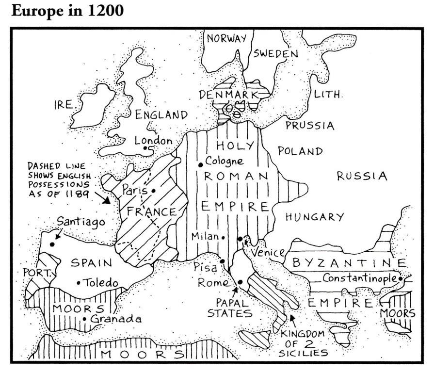 b. Between 1347-1351, it ravaged most of Europe. About 38 million people died in four years, roughly of the European population. c.