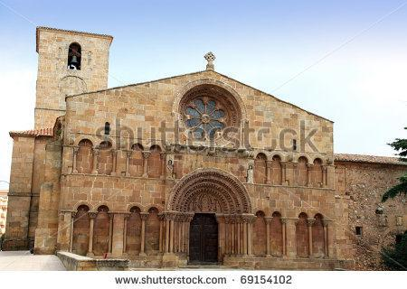 In the 11 th century, most churches and monasteries modeled the architecture of Roman buildings.