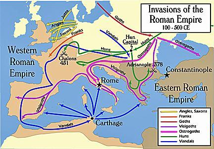 Early Middle Ages Invasions, unlike what history tells us, were not just military expeditions.