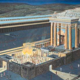 There will be two stages or phases of the abomination of desolation: Phase 1 The presence of the Antichrist himself in the temple in the Holy of Holies (2 Thess.
