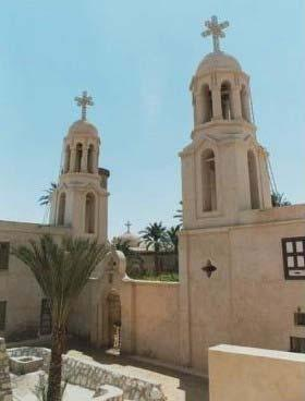 Wadi El Natrun was one of the places where early Christian monks retreated for meditation and contemplation.