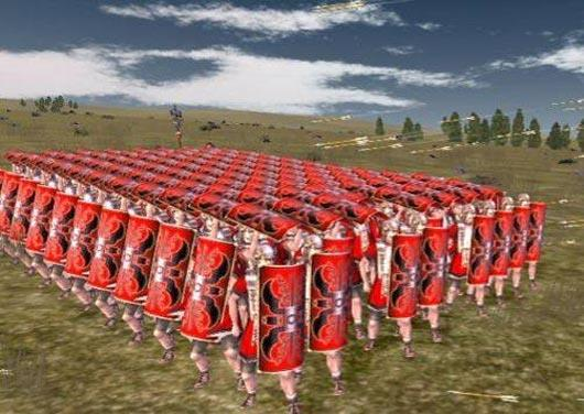 Roman Legions Rome had a very strong army Every male citizen had to serve when