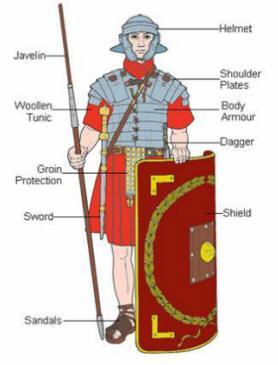 Roman Legions Soldiers were called legionaries Well-trained; desertion was punishable by death