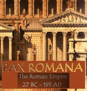The Pax Romana Pax Romana = Roman Peace Period of Peace that lasted