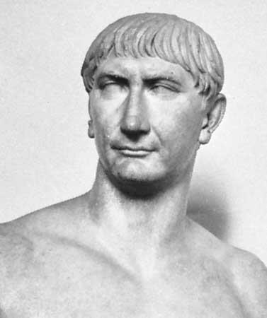 Good Emperors Trajan = increased
