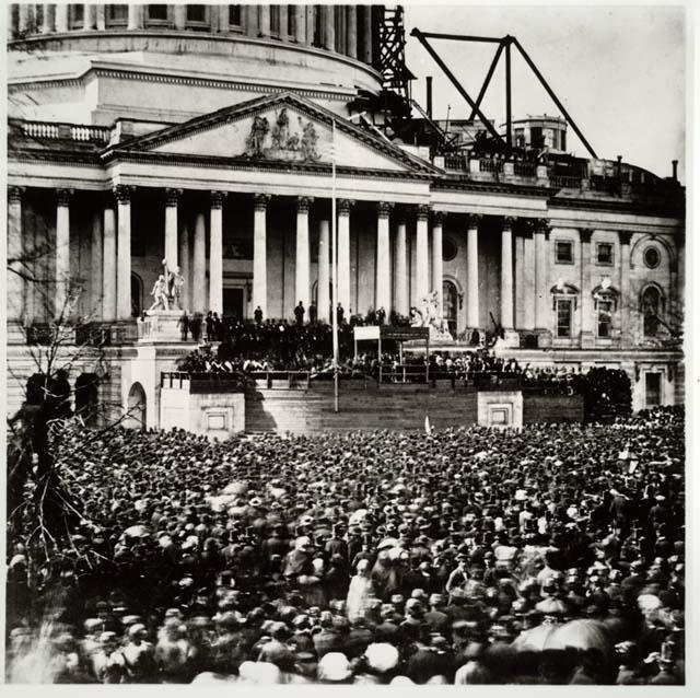 Abraham Lincoln s first inauguration speech, given