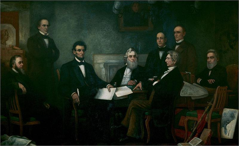 Lincoln and His Cabinet at the