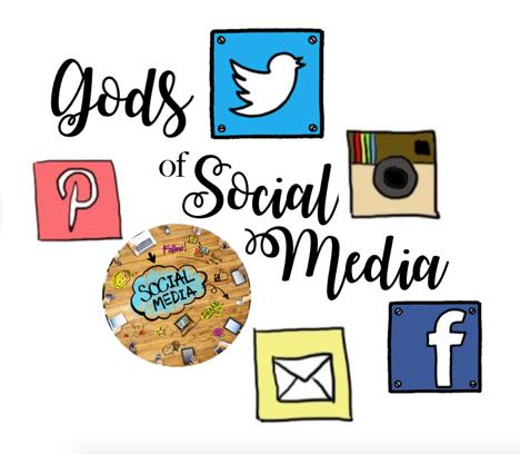 Gods of Social Media Project: You will be creating social media on one or two different platforms.