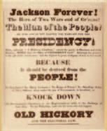 The Elections of 1824 and 1828 Adams and Jackson introduced new ways of campaigning in the elections of 1824 and 1828.