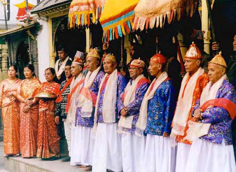 This happened on the twenty-fifth of January, 2001 in preparation for the ordination ceremony performed ten days later, which requires the participation of the elders.