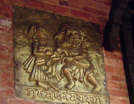 schandra to establish Itumbahal. The legendry figure of Gurumapa was an ugly-faced dangerous demigod who devoured, according to legends, live children.