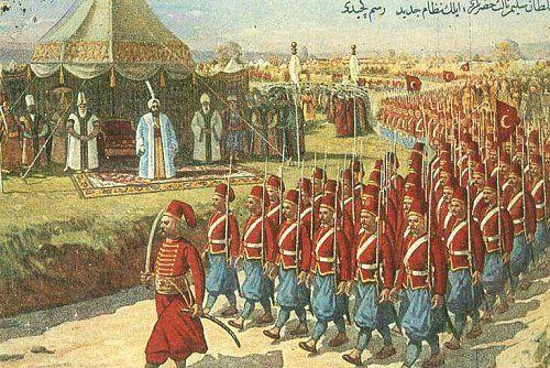 OTTOMAN EMPIRE Devshirme- Ottoman army drafted boys from conquered Christian lands- educated them, converted them to Islam,