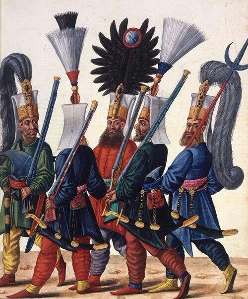OTTOMAN EMPIRE Janissaries- elite soldiers in the Ottoman